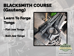Blacksmith Course (Gauteng) - Learn To Forge Tongs