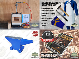 Ultimate Blacksmith Starter Kit - Anvils South Africa